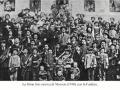 La prima foto storica di Mosson con la Fanfara 1910