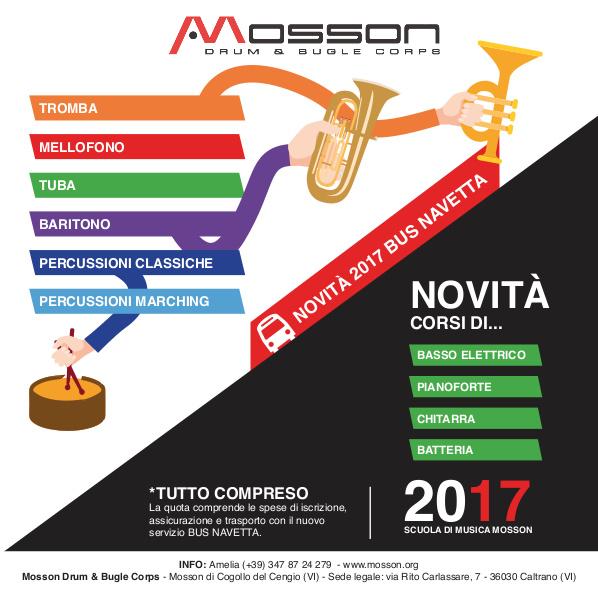 Novità Corsi 2017-2018